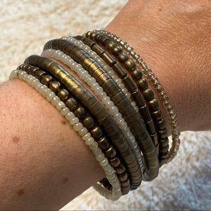 Boho Multilayered Wrap Bracelet
